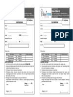 Form Pendaftaran Bimbel