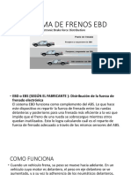 Sistema de Frenos Ebd