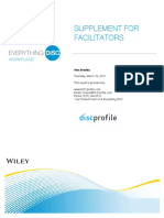 Supplement for Facilitators