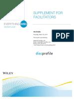 Supplement for Facilitators
