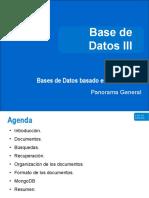 Bases de Datos basadas en Documentos