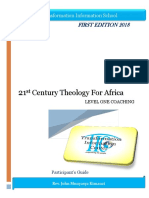21st Century Theology for Africa