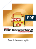 PDF Pro 4 Quick Reference Guide Ita