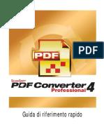 PDF Pro 4 Quick Reference Guide Ita