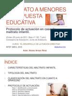 Maltrato infantil_Protocolo_pechakucha_Alonso_Arroyo_Pérez