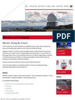 Raytheon Sensors and Imaging