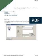 ProSteel common properties