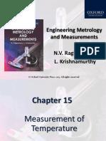 Measurement of Temperature