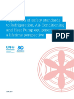 Application of Safety Standards to Refrigeration, Air-Conditioning and Heat Pump Equipment – a Lifetime Perspective (Note 3)
