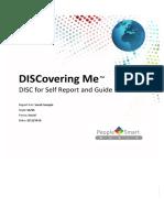 Sample Discoveringme-disc Self