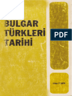 Geza Feher - Bulgar Türkleri Tarihi
