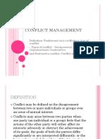 Confilct Management Chapter5