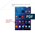 Hướng Dẫn Sử Dụng Phần Mềm Tems Pocket Trên Máy Đo Samsung Note 4