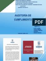 Presentación AUDITORÍA de CUMPLIMIENTO Y Normativa-sudeban v1