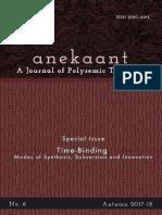 For Web Anekaant NO. 6 9-4-18