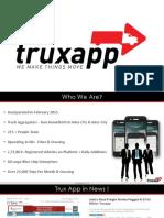Trux App Logistic Solution Introduction