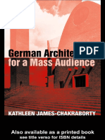 Kathleen James-Chakraborty German Architecture