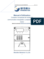 7 INHE SD NF2 OM MTR001 a Single Phase Smart Meter Operation Manual FR