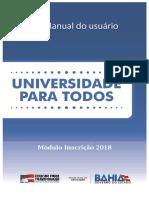 Manual Upt2018
