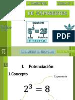 Teoria de Exponentes 4TO
