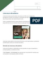 Literatura Brasileira_ resumo, história e escolas literárias - Toda Matéria.pdf