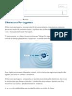 Literatura Portuguesa_ Origem, História e Escolas Literárias - Toda Matéria