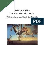 Cartas y Vida de San Antonio Abad