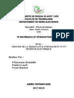 TP 2 Matériaux introduction a la HT