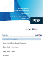 Innovation in Super Critical Boiler