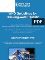 02 - WHO Guidelines for Drinking Water Quality