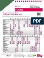 Tours - Vierzon - Bourges - Nevers Du 14-05-2018