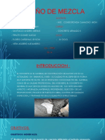 Diseño de Mezcla - Concreto 2