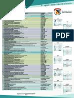Calendario Academico 2018 Distancia