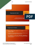 T02 Diagramas de Clase
