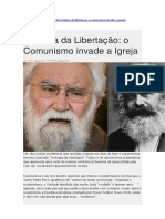 Teologia Da Libertação O Comunismo Invade a Igreja