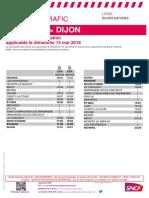 Nevers-Dijon de dimanche 13 Mai