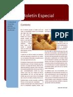 Boletin Nacional Especial - Junio 2009