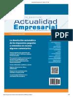Actualidad Empresarial - Edición N° 394
