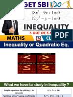 Inequality Sbi Clerk Pre 1-14-02 18