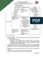 Programación 3era Rotación de Medicina