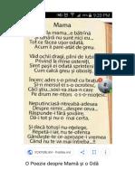 Dragă mamă