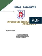 Infecciones respiratorias agudas (IRA)