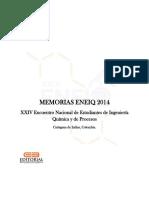 Memorias XXIV Encuentro Nacional de Estudiantes de Ingeniería Química y de Procesos ENEIQP