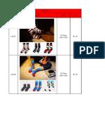 Socks Catalog