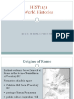 1.1 Rome's First Empire