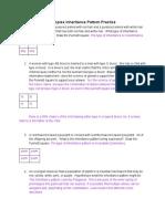 complex inheritance pattern practice