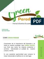 Presentación Green Parade 3era Ed