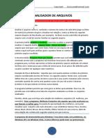 Analisador de Arquivos - Descrição de Uso Sucinta - Word 97