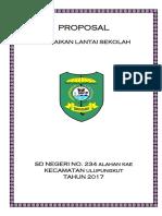 Proposal Perbaikan Lantai Sekolah 234