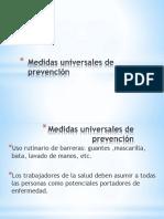 Medidas Universales de Prevención